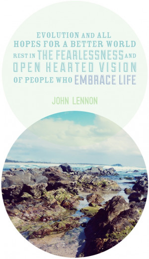 inspirational quote by John Lennon