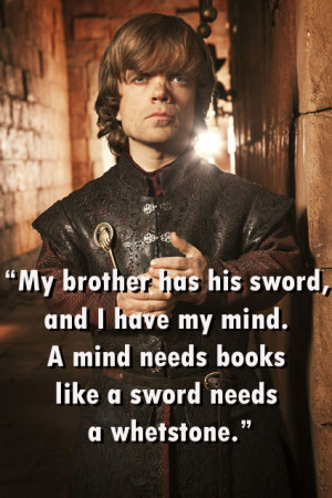 Tyrion Lannister's 5 Best Quotes From 'Game Of Thrones'