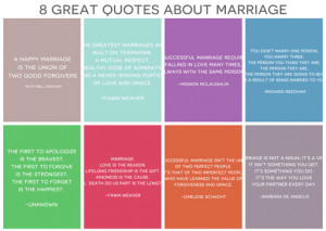 Here are 8 great quotes about marriage that stand true whether you are ...