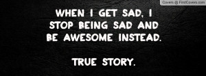 Facebook Quotes About Being Sad