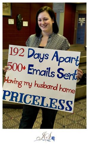 Military Homecoming Sign Sayings Homecoming quotes