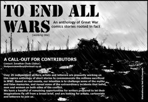 Anthology Brick Comics To End All Wars war World War One