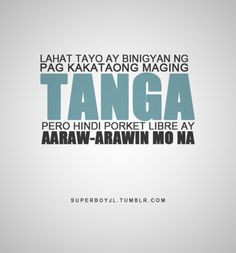 tagalog quotes #parinig quotes More