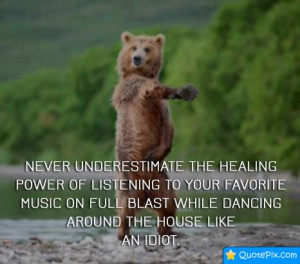 ... The Healing Power Of Listening To Your Favorite Music On Full Blast