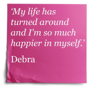 Find out how Debra turned her life around. #InspirationalQuote # ...