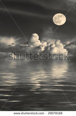 Beautiful Sky Moon And Stars