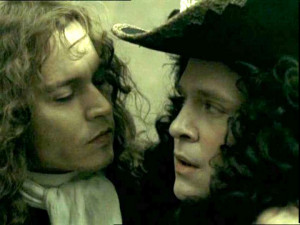 Photo of Johnny Depp from The Libertine 2005 with Tom Hollander