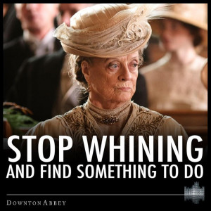 love the English..and of course Downton Abbey & Maggie Smith.