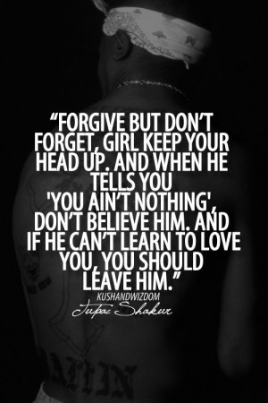 thug love quotes and sayings