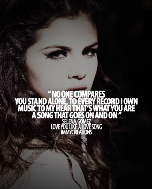 ... tags for this image include: selena gomez, usa, nice, quote and selena