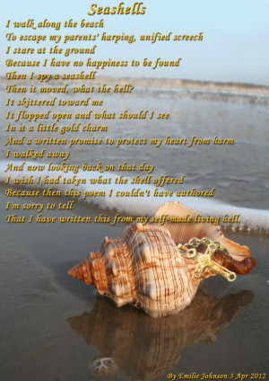 Seashell Poems and Quotes