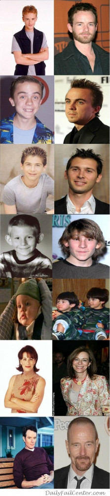 Malcolm In The Middle Cast Grown Up