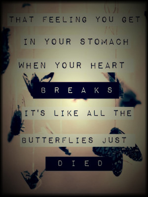 First Heartbreak Quotes Tumblr