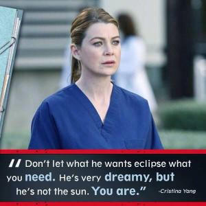 dr burke and yang relationship quotes