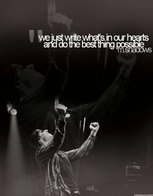 quote from M. Shadows of Avenged Sevenfold