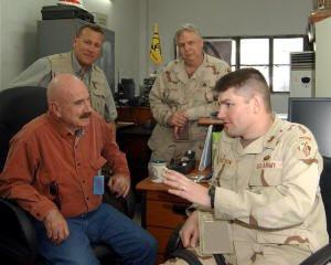 Gordon Liddy and Other Talk Show Host Visit Iraq