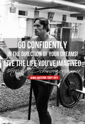 arnold motivational quote
