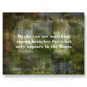 Rumi quote on healing and love postcard - Zazzle.com.au