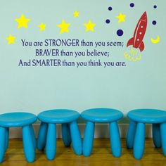 Cosmic cool quote: You are stronger than you seem; Braver than you ...