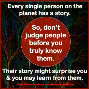 judging others   Judging others   Quotes