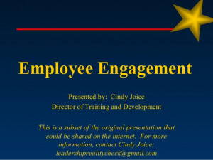 employee engagement overview of findings two words employee engagement ...