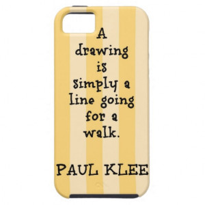 Paul Klee Paintings and Paul Klee Quote iPhone 5 Covers