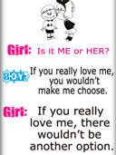 Boys Vs Girls Signs & Sayings