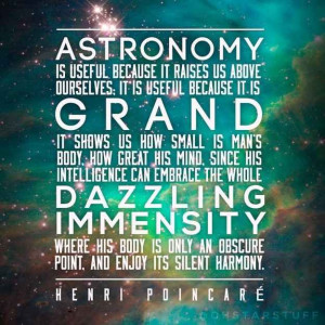 Astronomy is grand | 21 Science Quotes That Make You Go