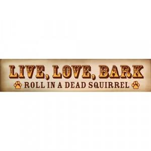 Live Love Bark Funny Decorative Dog Lover Wood Sign | eBay
