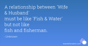 Quotes On Husband and Wife Relationship