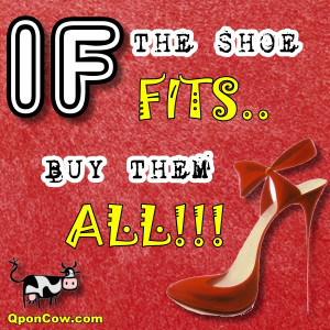 "If The Shoe Fits""….Funny Shopping Quotes"