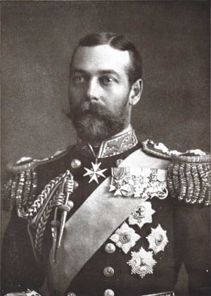 King George V reigned in England from 1910 to 1936.
