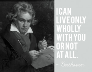 Beethoven - Quote about Love