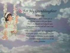 Love Poems For Grand Daughters | poems grandparent poems aunt uncle ...
