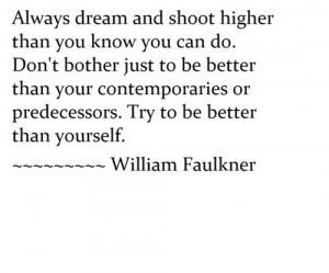 William Faulkner quote / W5RAN