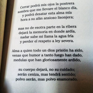 By Francisco de Quevedo.