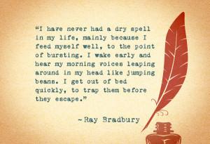 Ray Bradbury Quotes Google