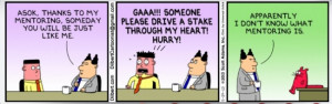 Here is a bit of a laugh courtesy of Dilbert to end the day.