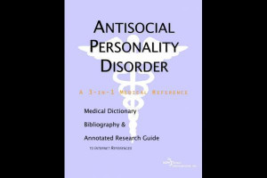 About 'Antisocial personality disorder'