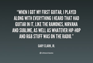 Quotes by Gary Clark Jr