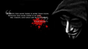Quotes for V for Vendetta, together with mistakes, trivia, trailers ...