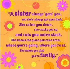 YOU ARE THE BEST SISTERS ONE CAN HAVE !