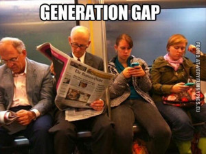 Tags: Gap , iPhone , Newspaper