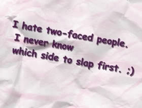 Two Faced People Quotes & Sayings