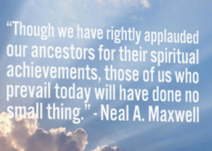 honor of Pioneer Day, we present quotes from LDS General Authorities ...