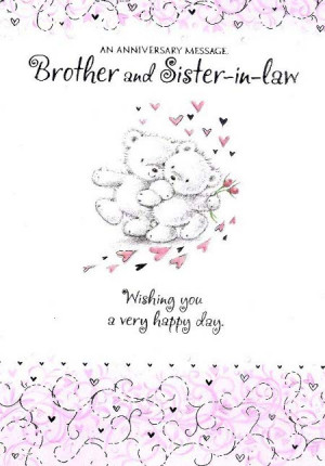 Anniversary Quotes For Sister And Brother In Law Happy