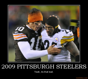2009 pittsburgh steelers cleveland browns