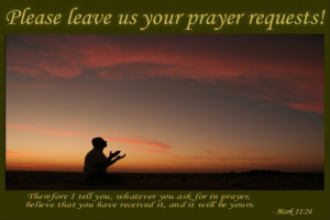 Prayer Request Thanksgiving