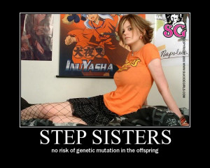 demotivational posters step sisters