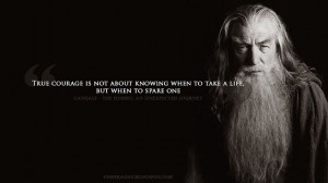 Quote About Courage from The Hobbit: An Unexpected Journey ...